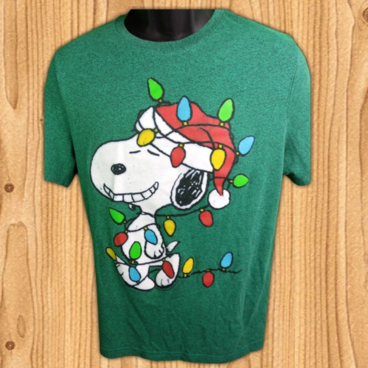 SNOOPY Shirt XL Short Sleeve graphic t S