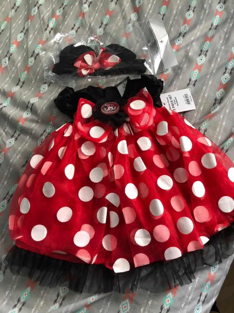 NWT Minnie Mouse Dress / costume