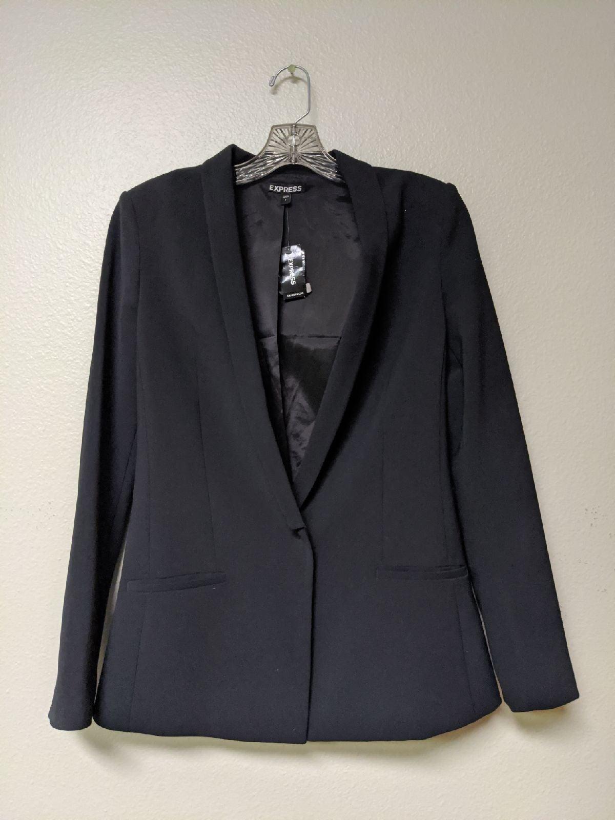 NWT EXPRESS Black Women's Blazer