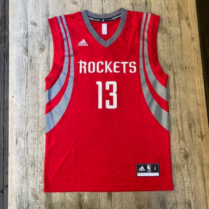 Adidas James Harden Rockets Jersey Red 1