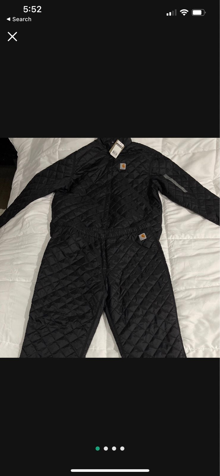 Quilted Carhartt jacket/Pants NEVER WORN