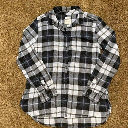 American Eagle Flannel Shirt Size Medium