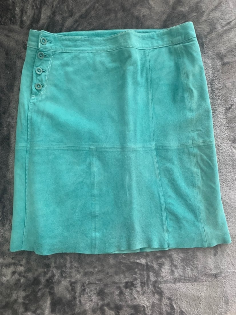 Lilly Pulitzer Suede Skirt