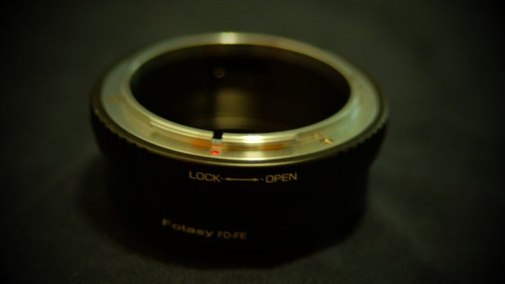 Fotasy Canon FD to Sony E-Mount Adapter