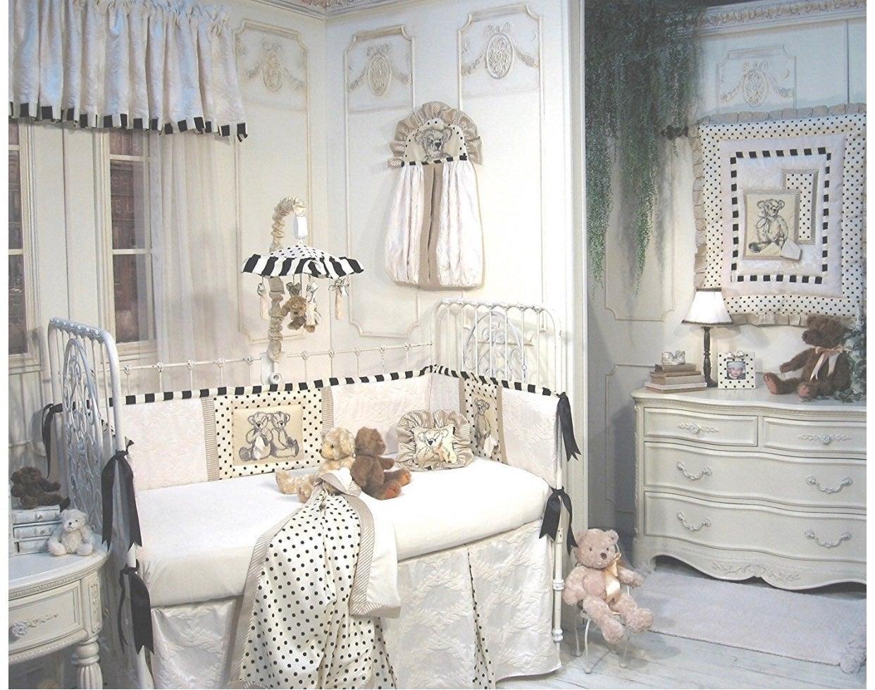 Jessica McClintock designer baby bedding
