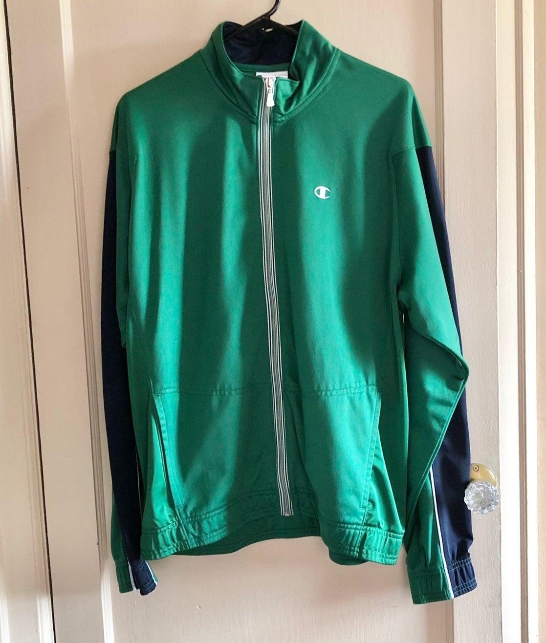 Champion Green Jacket Size Large