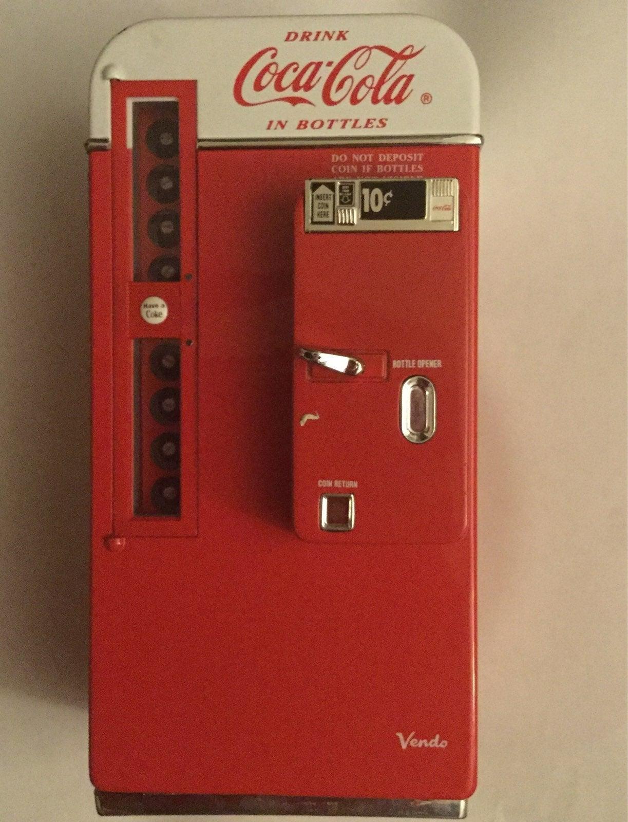 Coca Cola Vending Machine Music Bank
