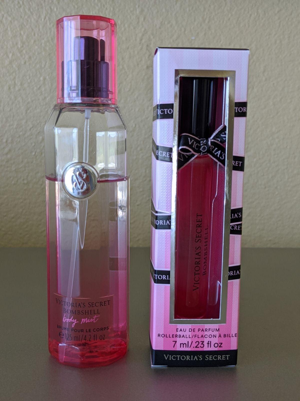 VS Bombshell Perfume Rollerball + Body M