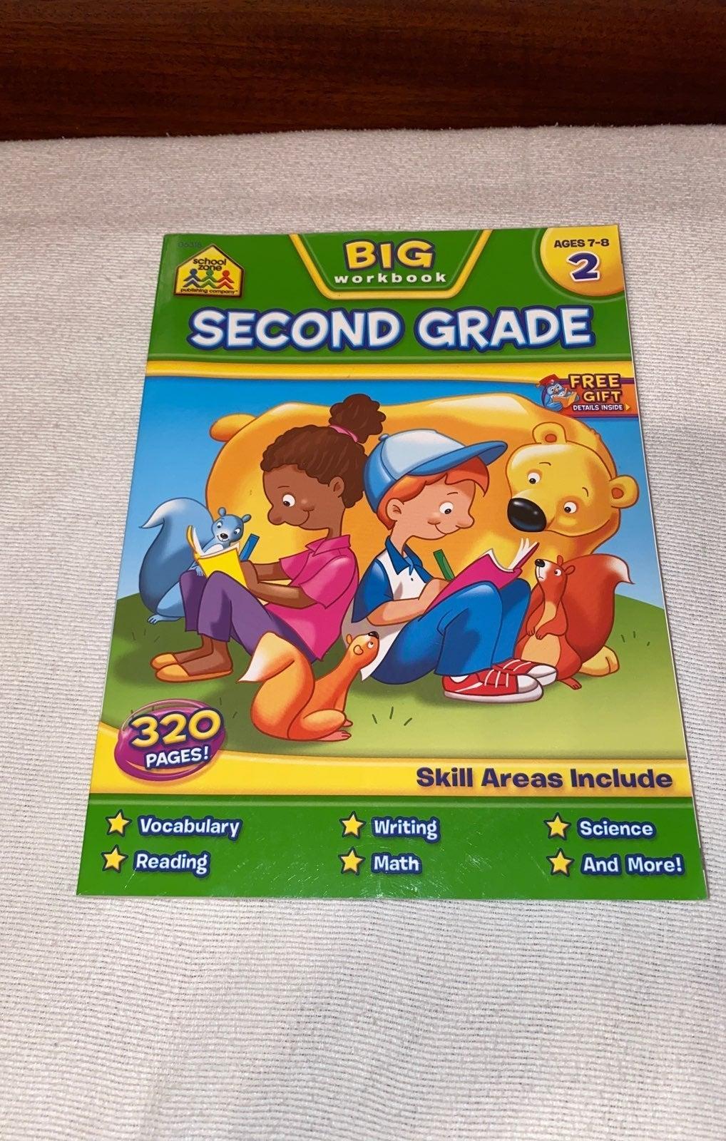 School Zone 2nd grade big workbook