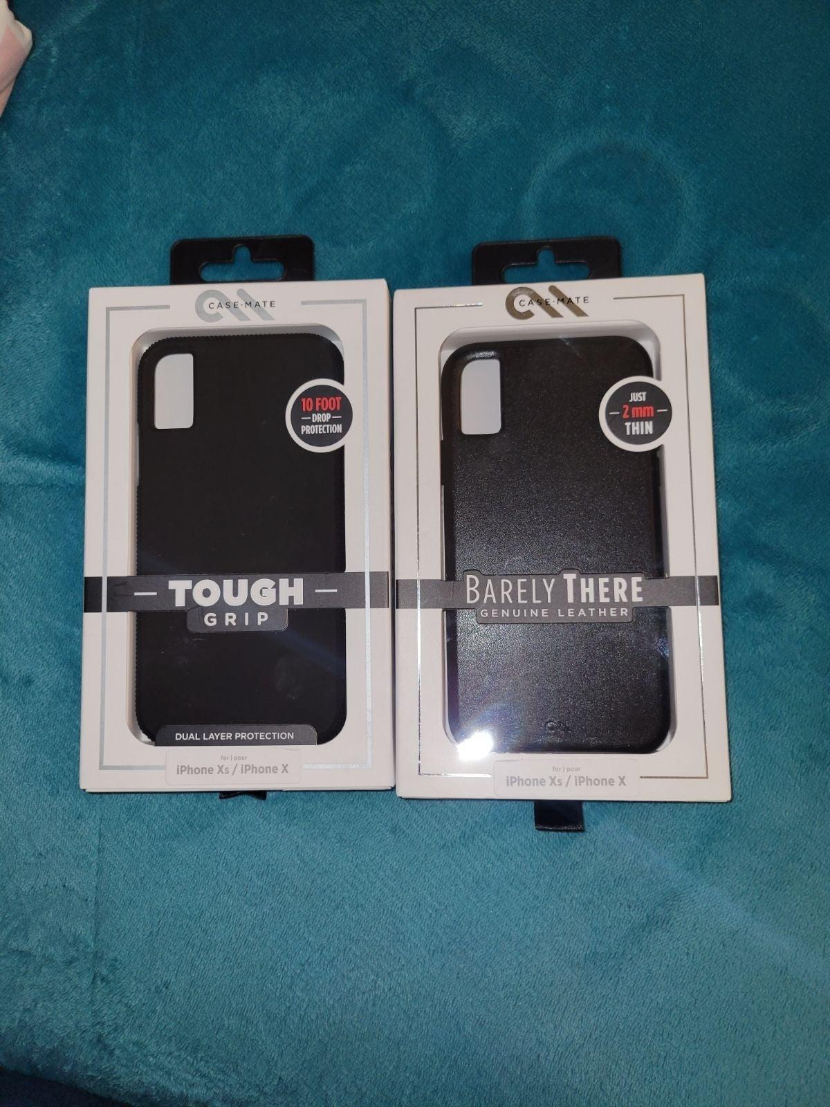 2 Iphone Xs/ X phone cases