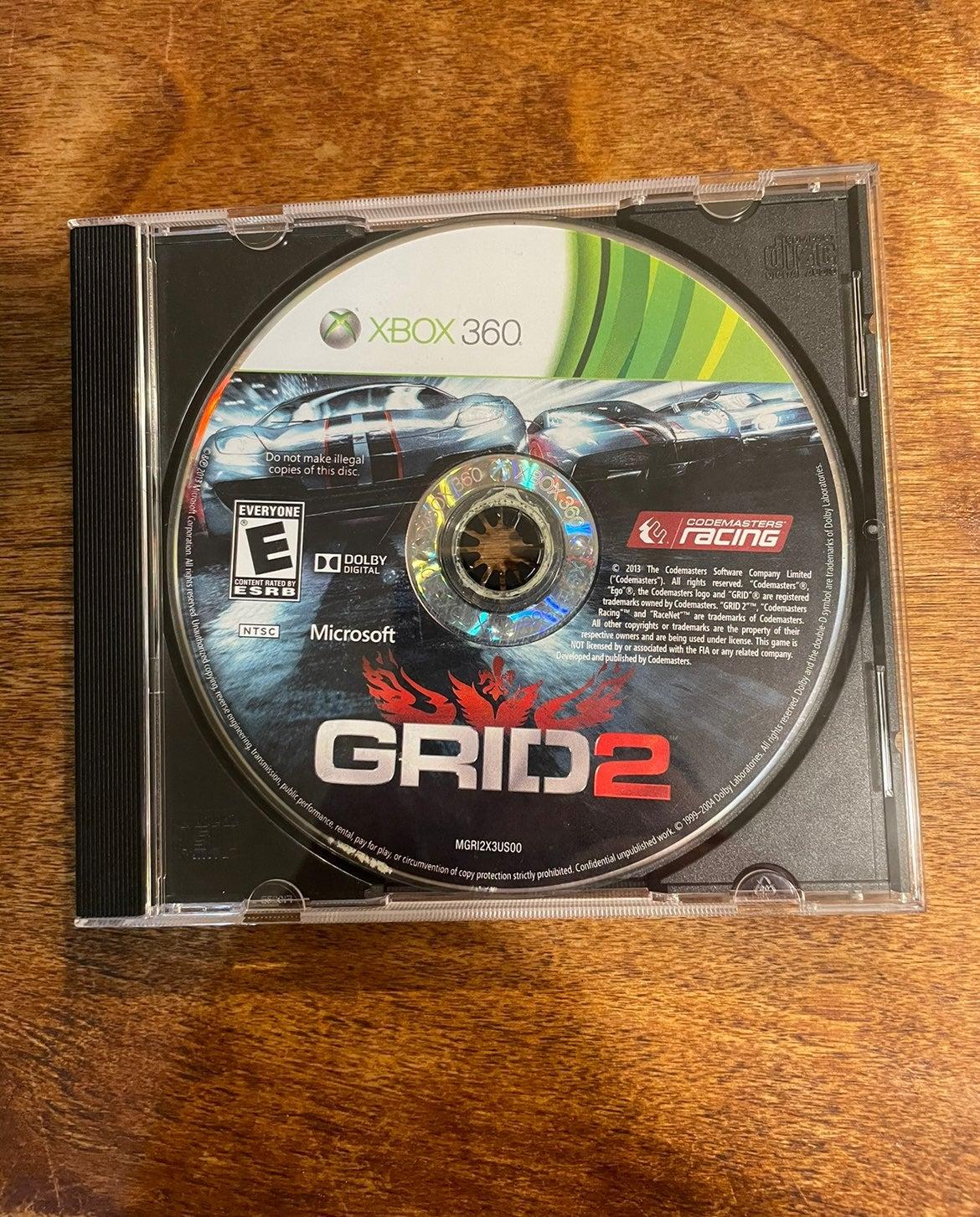 Grid 2 Xbox 360 Racing Game