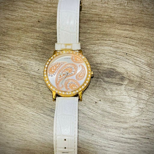 GUESS white watches for women