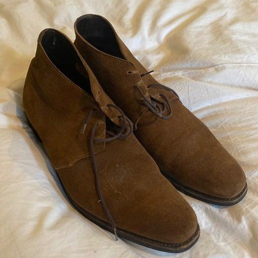 Paul Stuart Mens Suede Chukka Boots
