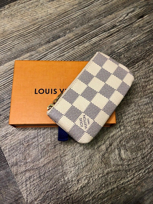 New Louis Vuitton Damier Azur Key Pouch