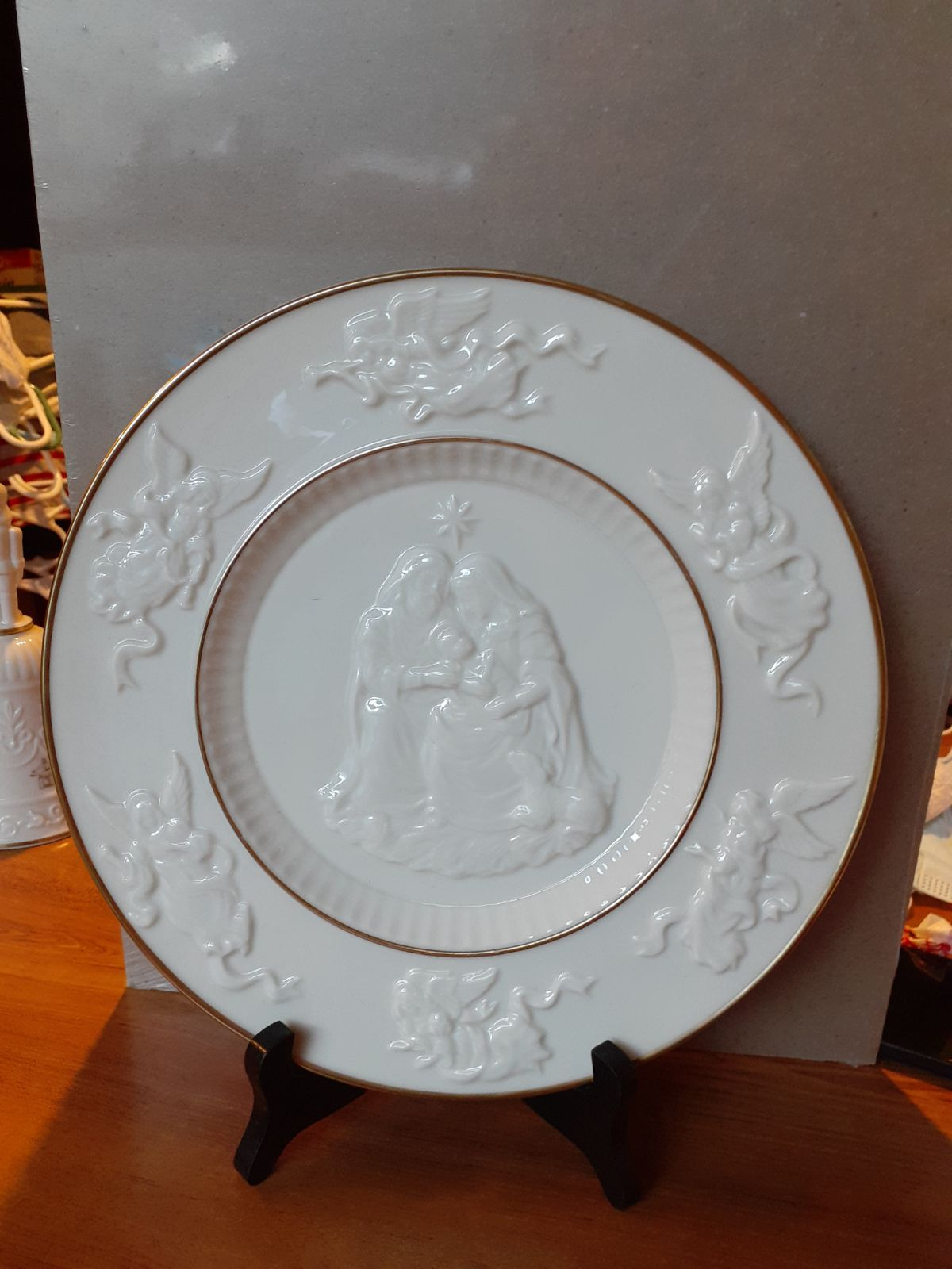LENOX China The Lenox Nativity Plate 10""