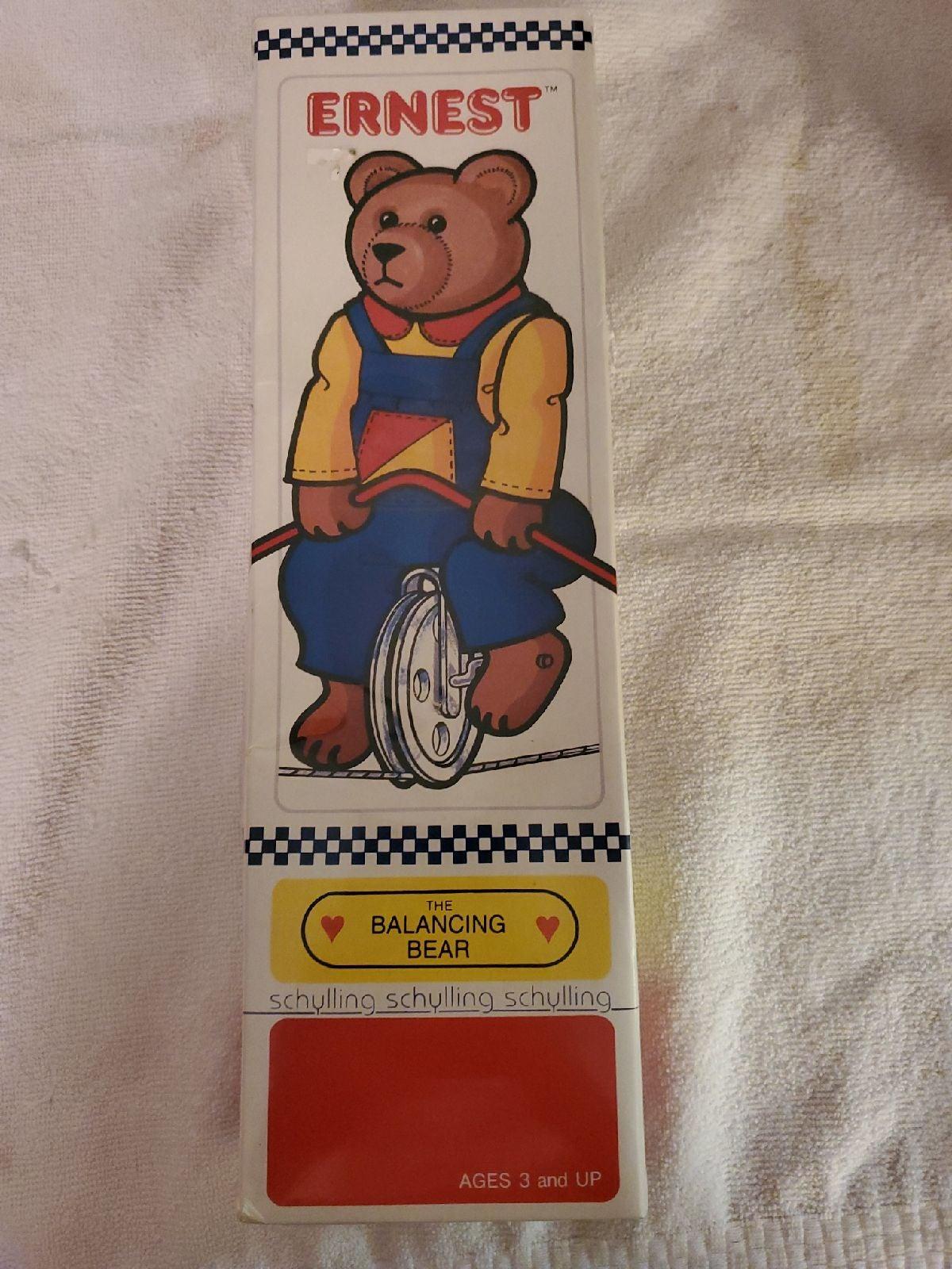 Ernest the Balancing Bear