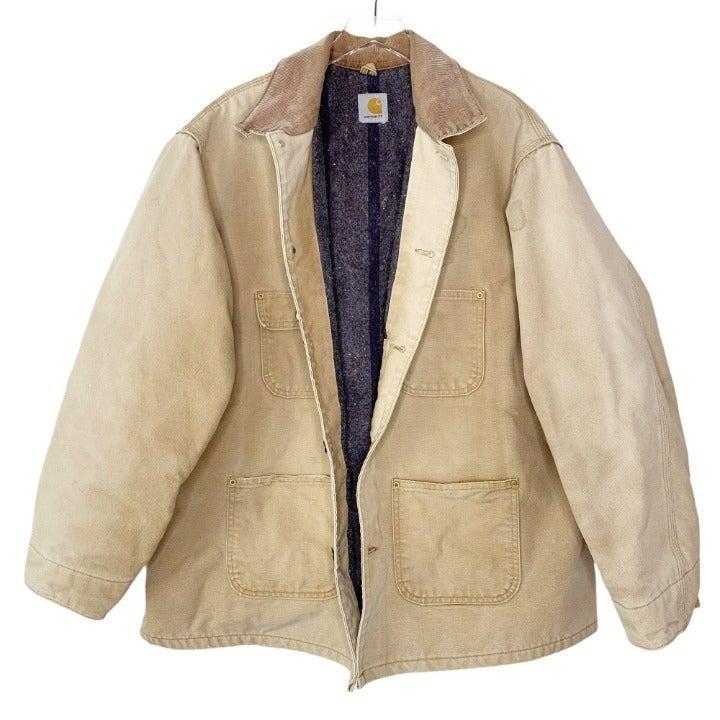 Carhartt Quilt Lined Work Jacket Sz XL