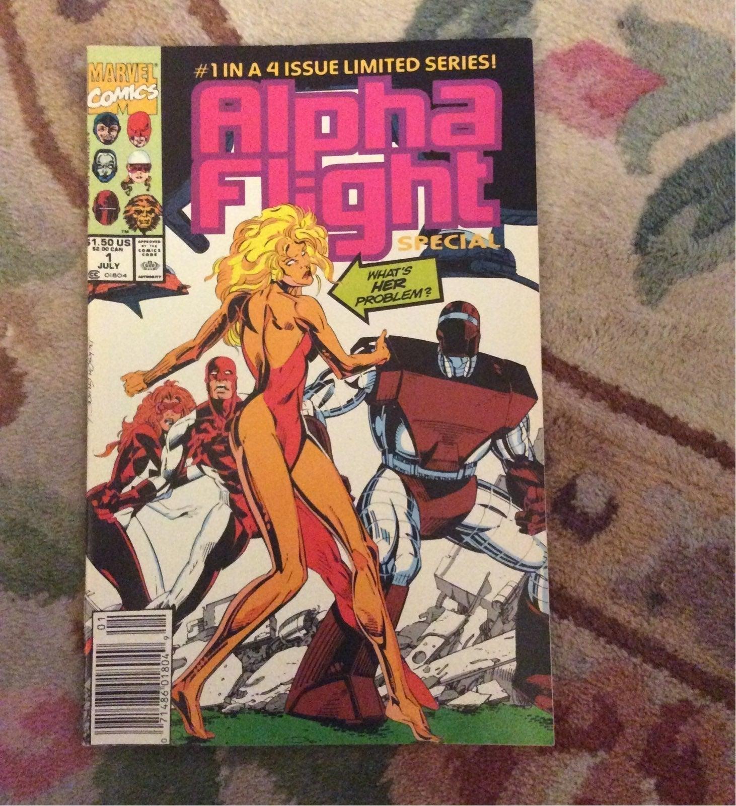 Alpha Flight Special #1