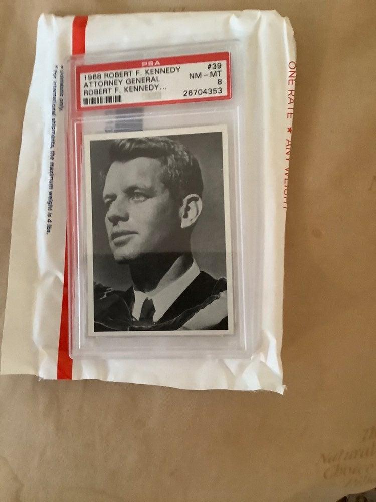 Robert Kennedy Trading Card