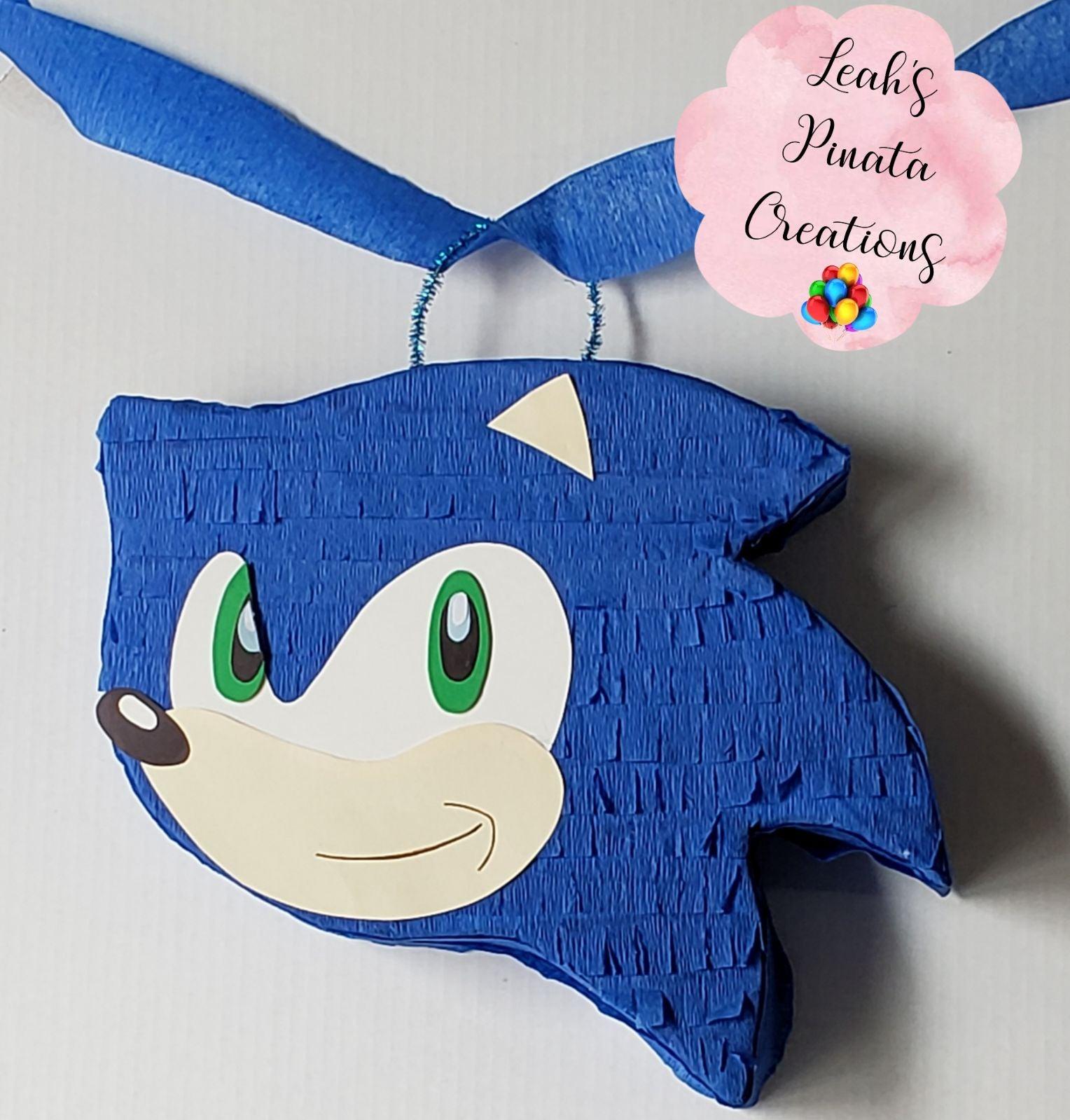 Zonicthe hedgehog piñata