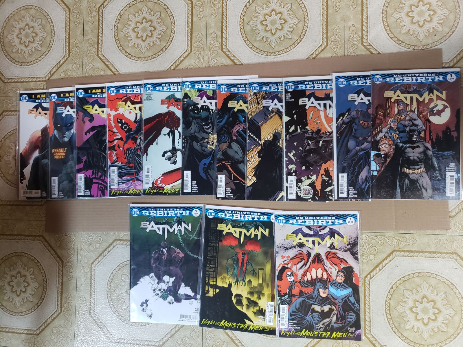 DC Rebirth (2016) Batman Issues 1-11