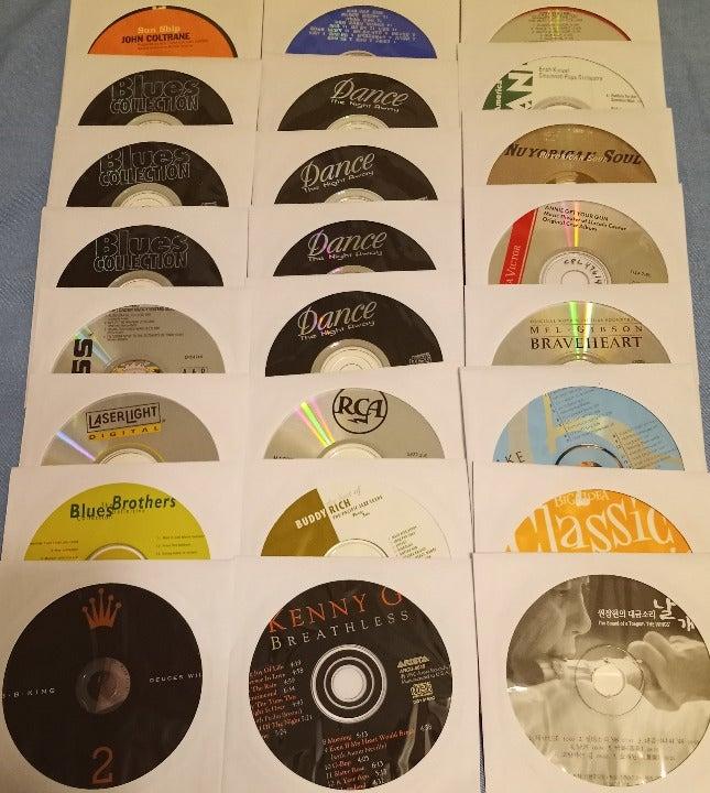 24 CDs Coltrane Muddy Waters Blues Jazz+
