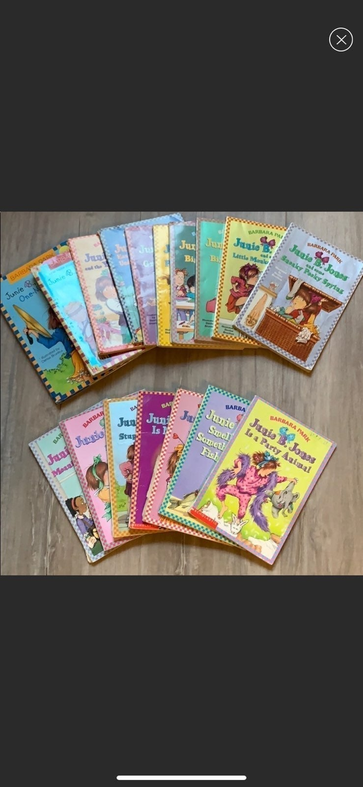 Set of Junie B. Jones book