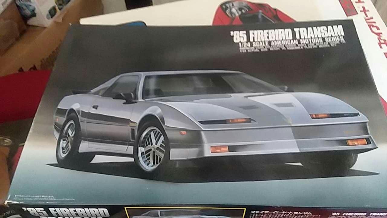 1985 Pontiac Trans Am Plastic Model kit.