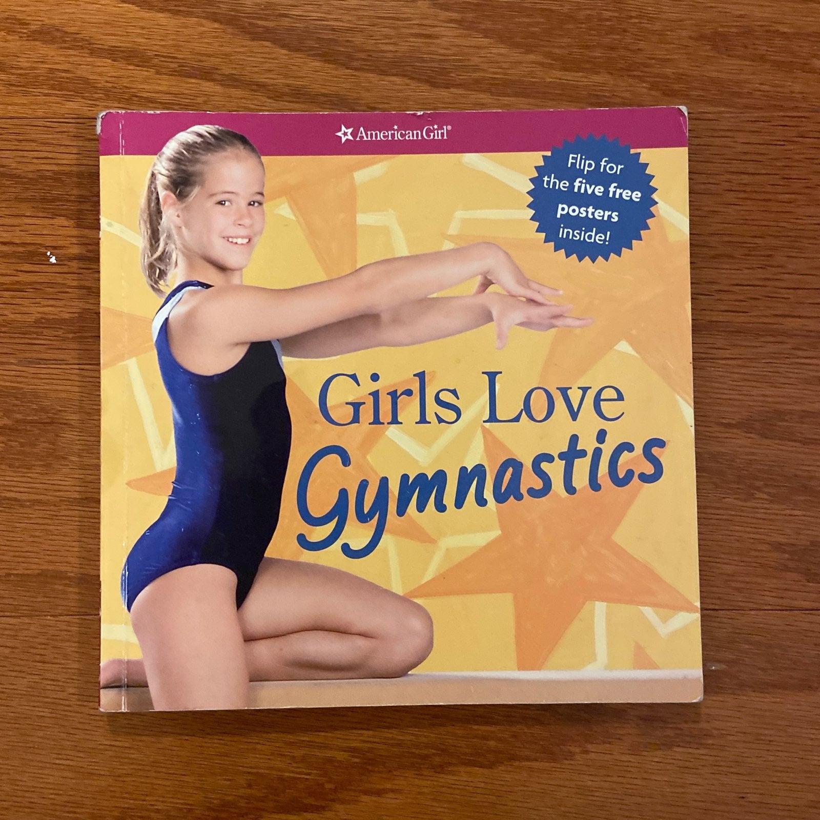 American Girl Girls Love Gymnastics Book