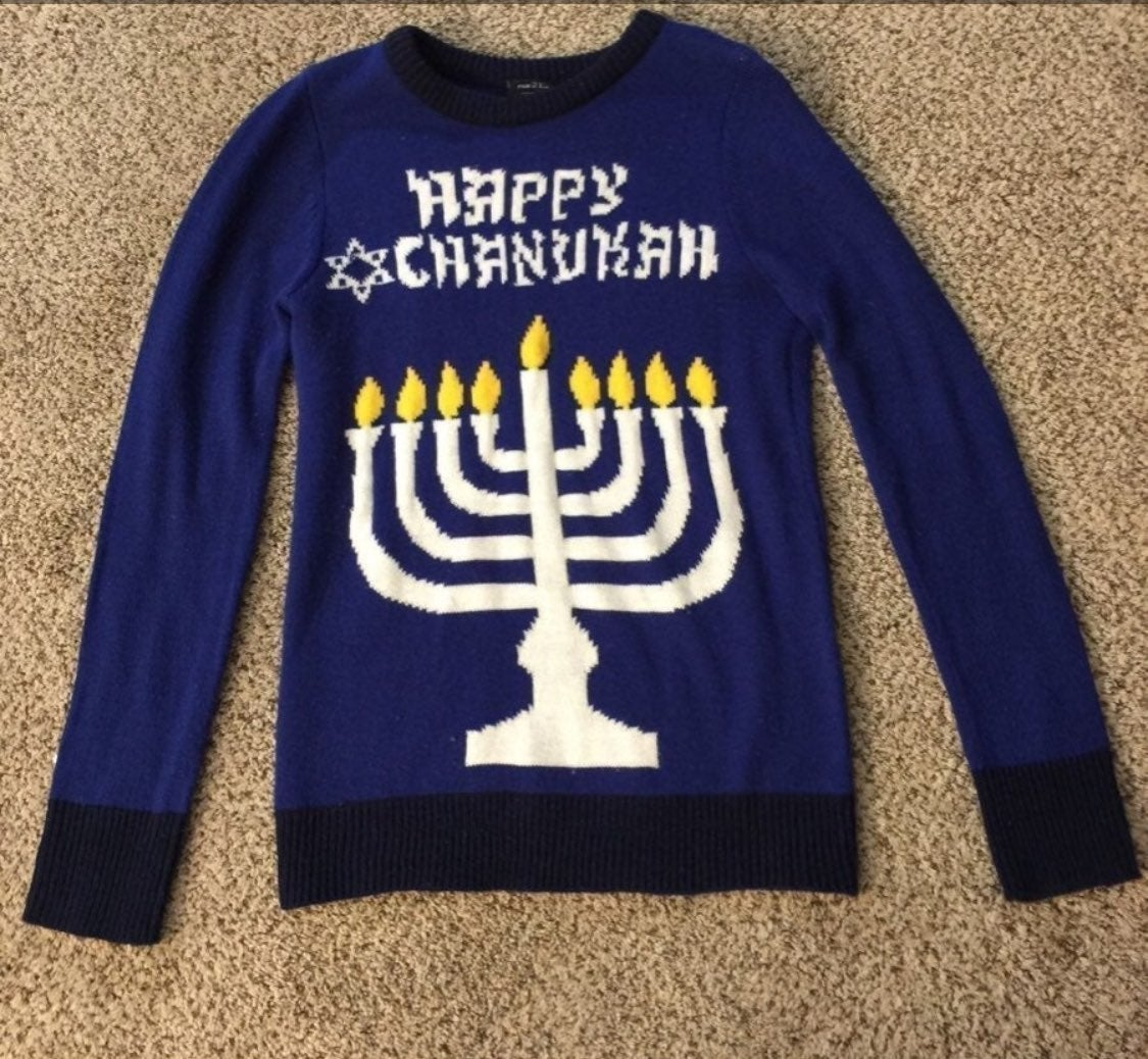 Hanukkah sweater for women