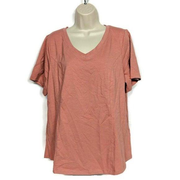 Denim & Co. Essentials Textured Knit Top