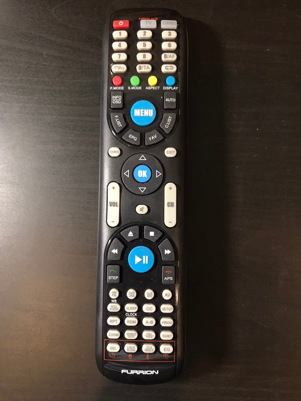 Furrion FUTVRS1-BL Remote Control