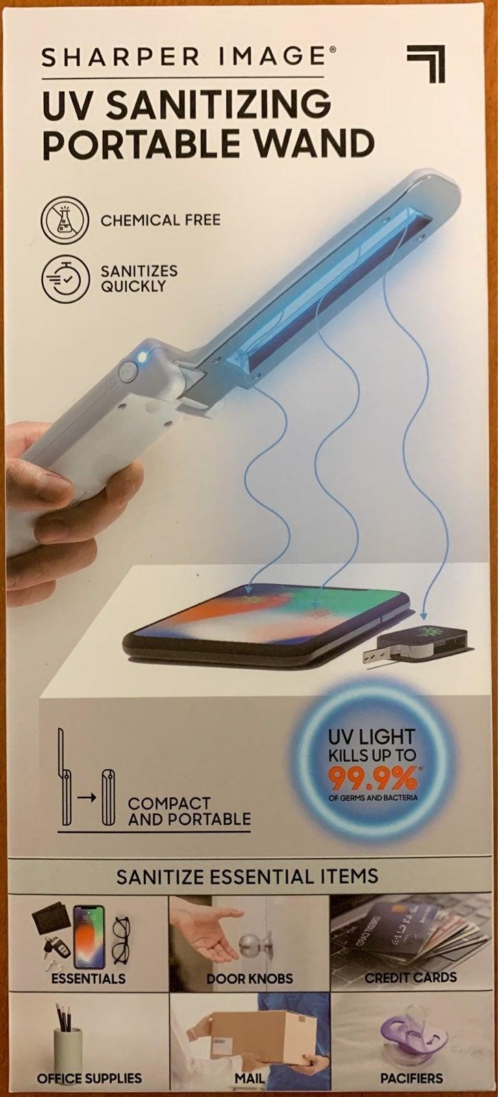 Sharper Image UV Sanitizing Wand