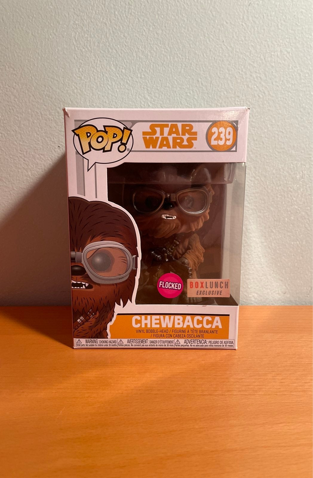 Box Lunch exclusive Flocked Chewbacca
