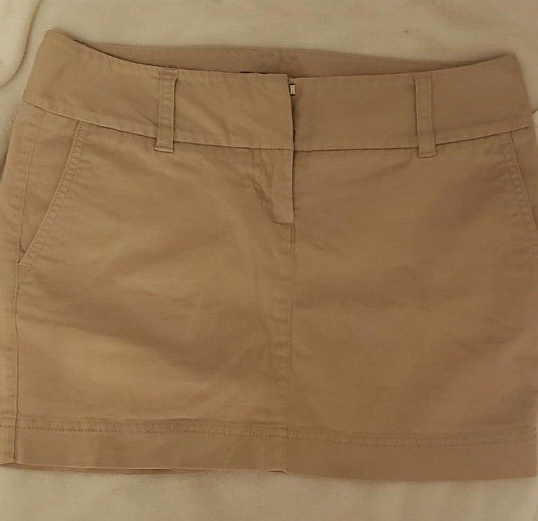 Express Khaki Skirt