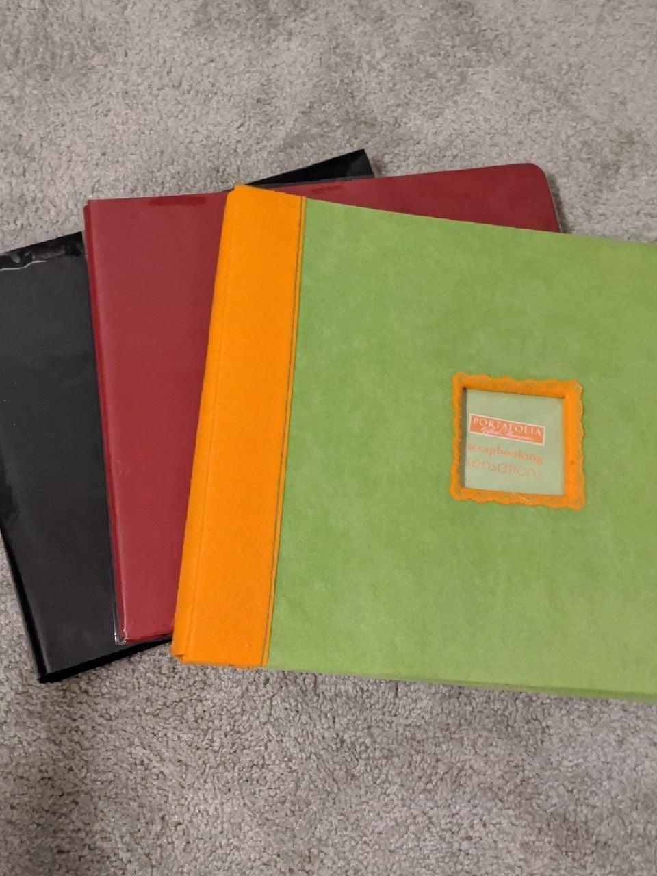 BUNDLE 3 Scrapbooks (12*12)