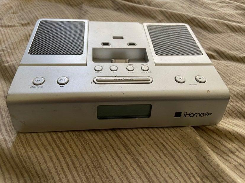 IHome 2go radio clock mp3