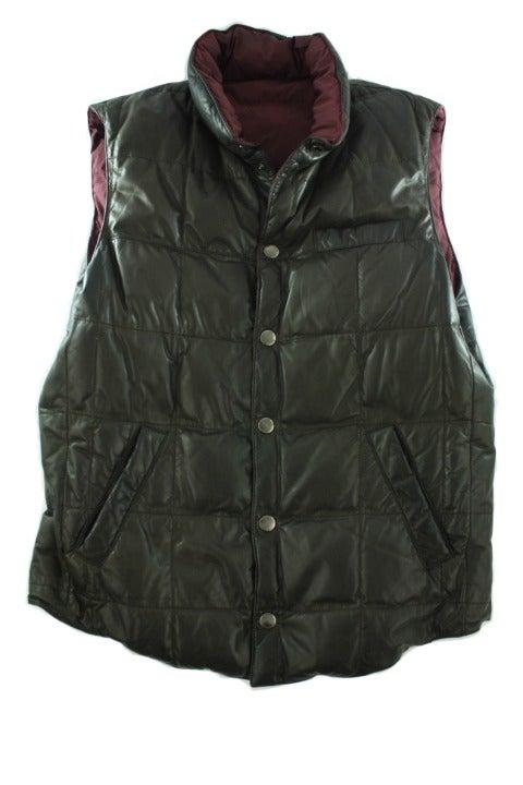 BRUNELLO CUCINELLI Men's Reversible Vest