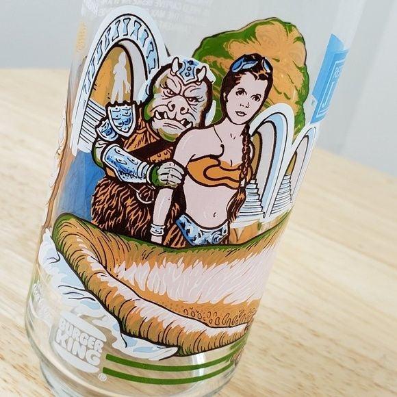 1983 Star Wars Return of Jedi Glass
