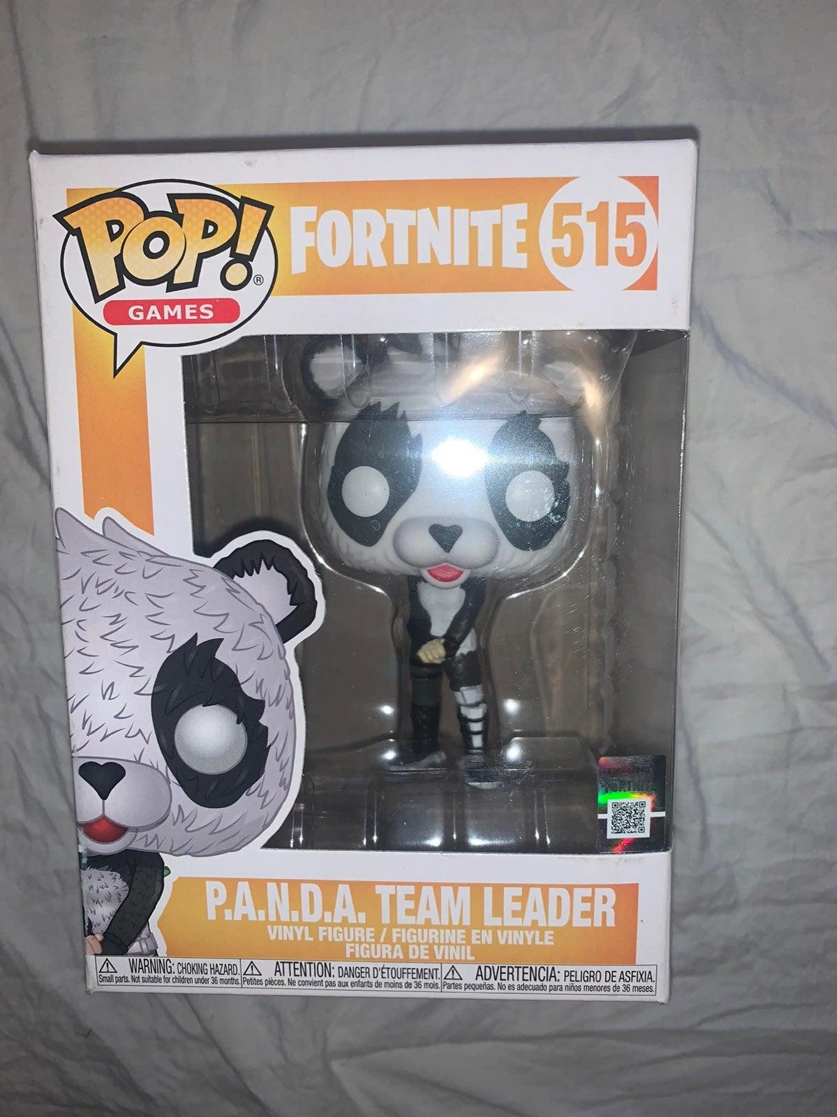 NIB Funko Pop Fortnite Panda Team Leader
