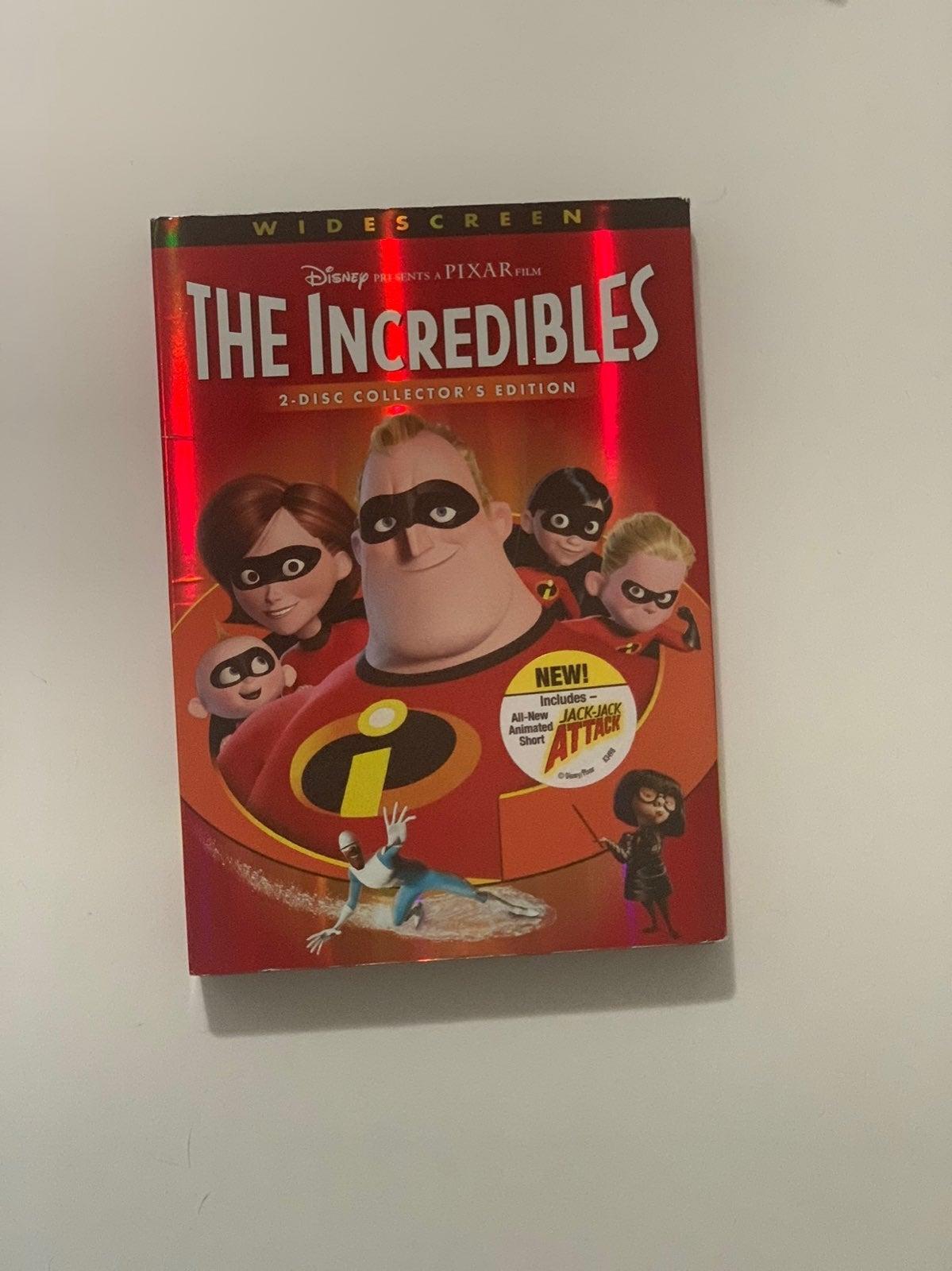Disney / Pixar The Incredibles DVD