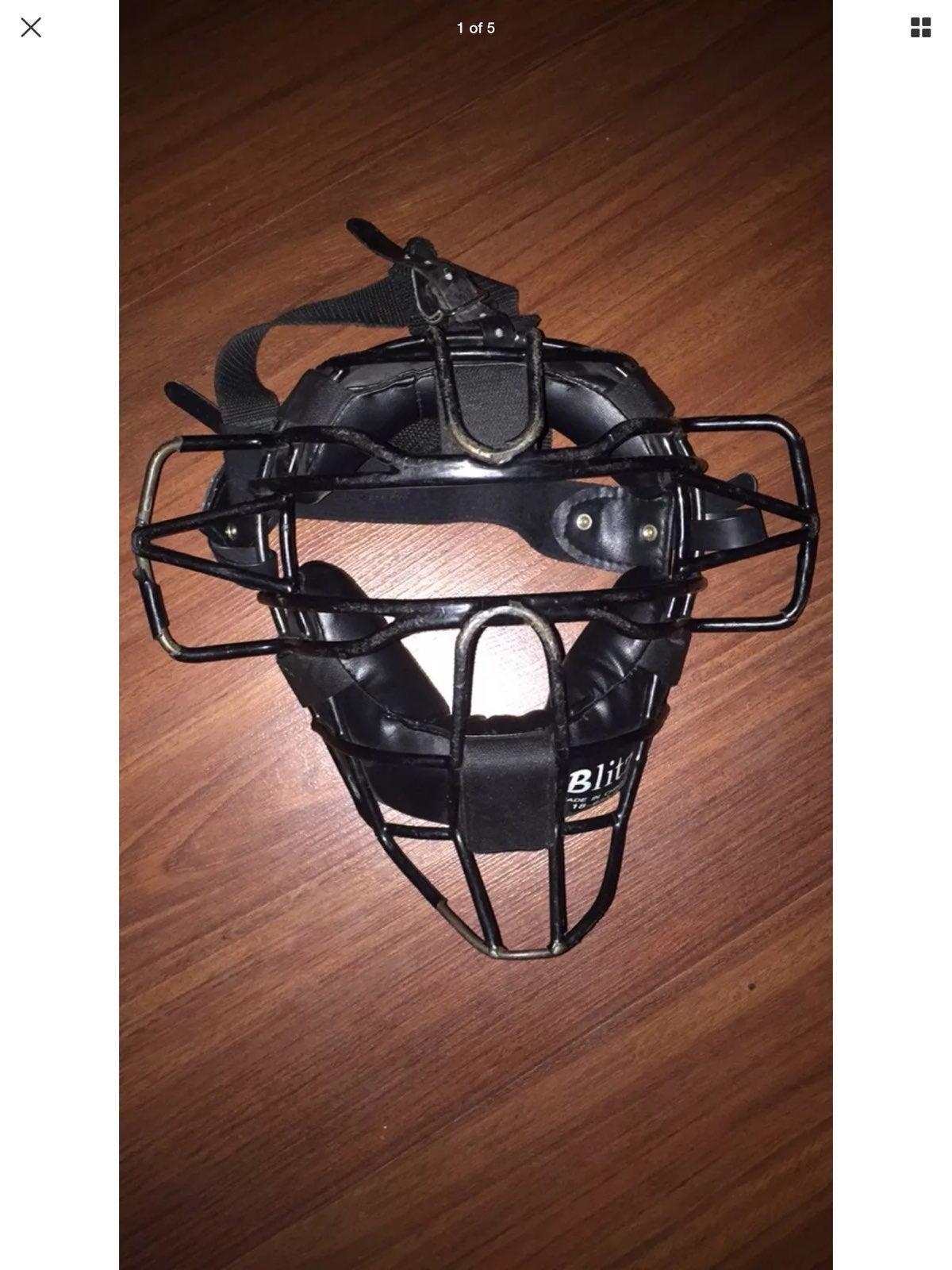 Blitz Umpire Catchers Mask Baseball Soft
