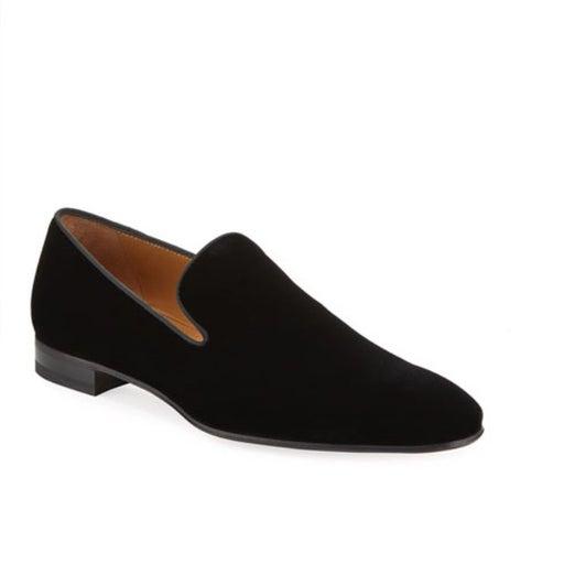Paul Stuart Men's velvet smoking slipper