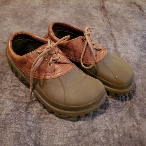 Vintage Crocs Leather Upper M7/W9