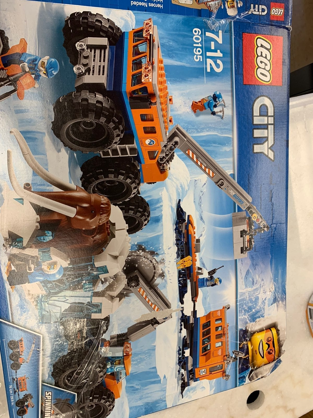 LEGO City Arctic Mobile Exploration Bas