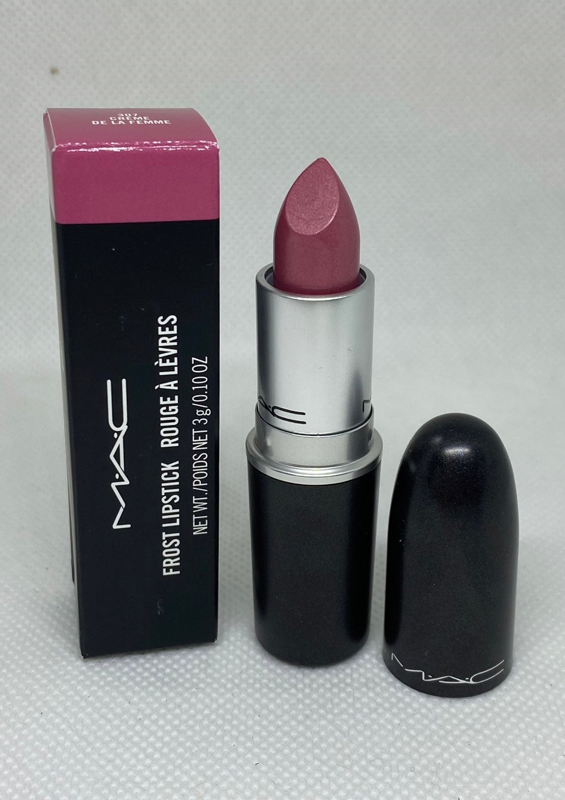 Mac frost lipstick Creme de la Femme