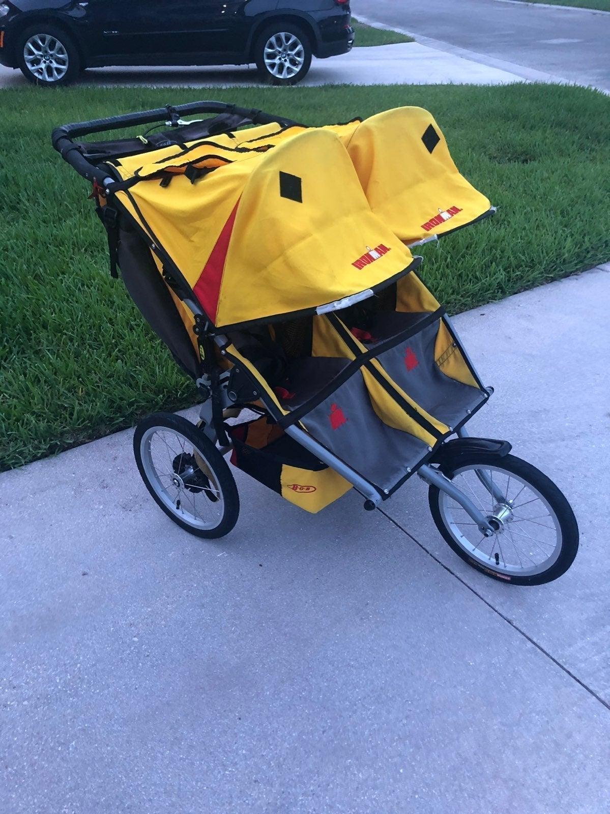 Bob jogging double stroller
