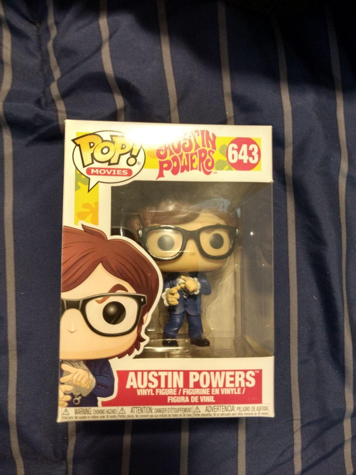 Austin Powers Funko Pop