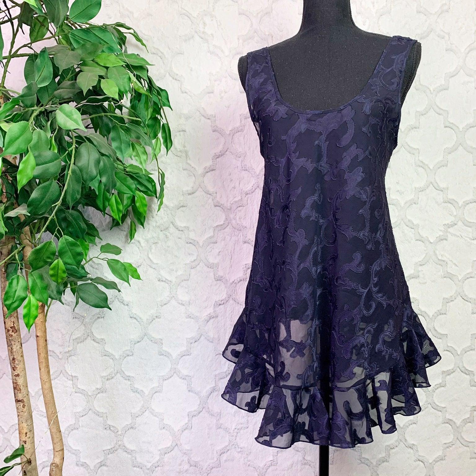 Vintage Victoria's Secret Navy Nightgown