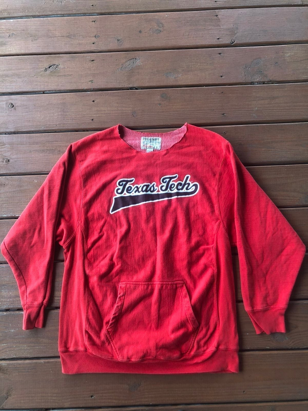 Vintage Red Texas Tech Pullover